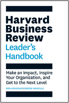 Harvard Business Review Leaders Handbook